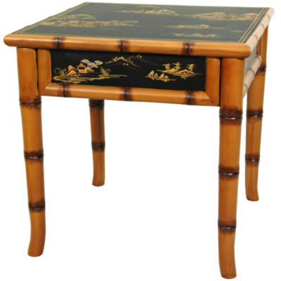 Ching Square Ming Chairside Table