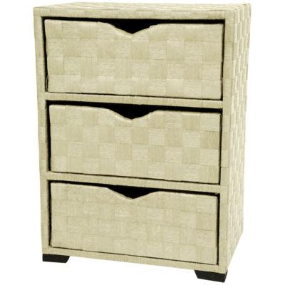 Oriental Furniture Natural Fiber Accent Chest