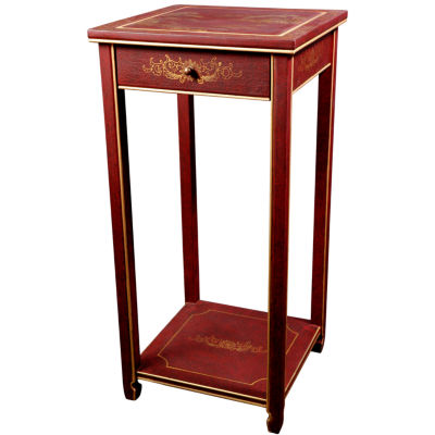 Landscape Oriental Chairside Table