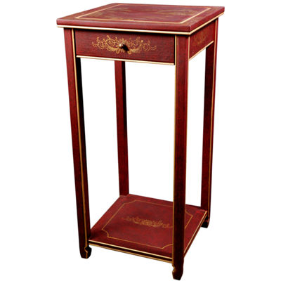 Landscape Oriental Chairside Table
