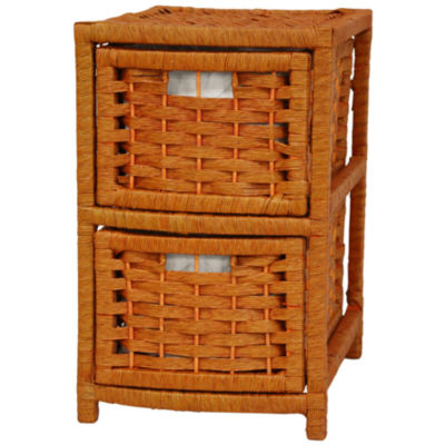 "17"" Natural Fiber Occasional Accent Chest"