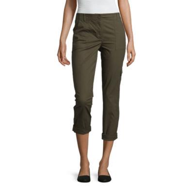 Liz Claiborne Skinny Fit Cargo Pants