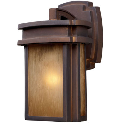 Elk Lighting Sedona Outdoor Sconce Light