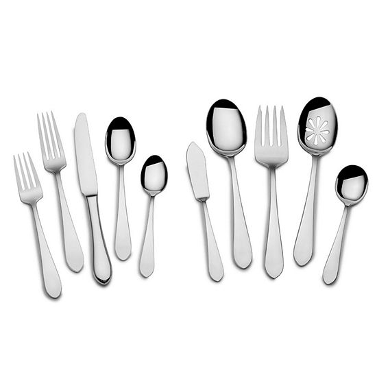 Towle 45 Pc 18 10 Stainless Steel Flatware Set