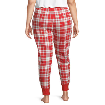 Sleep Chic Thermal Pajama Joggers-Plus