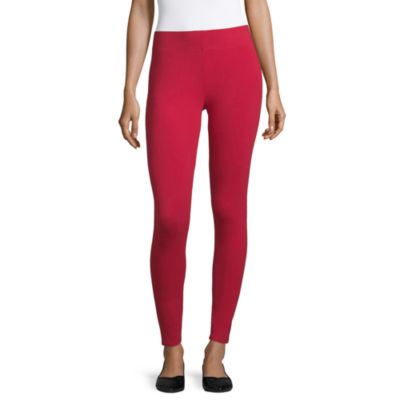 Mixit Solid Knit Womens Slim Legging
