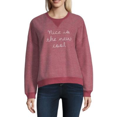 "Nice is the New Cool"" Sweatshirt - Juniors"