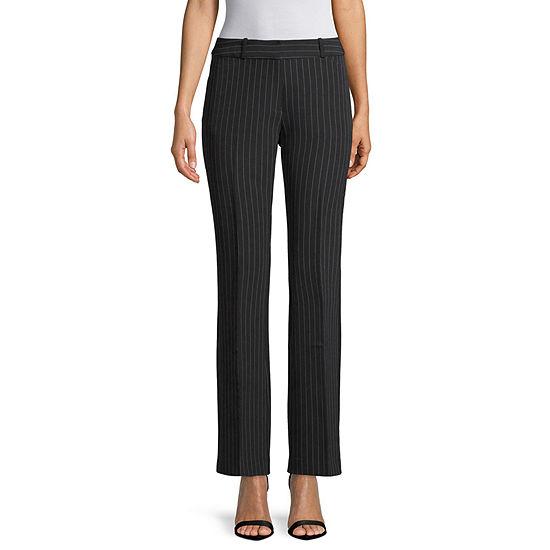 Liz Claiborne® Audra Bootcut Striped Trouser Pants
