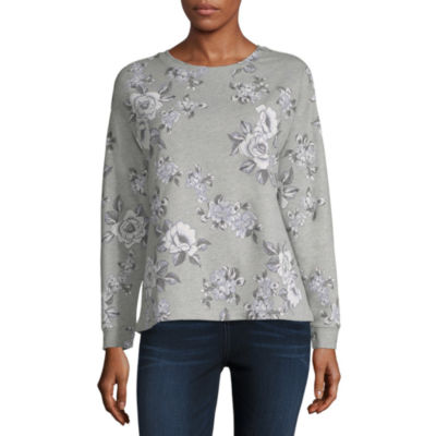 Liz Claiborne Long Sleeve Sweatshirt