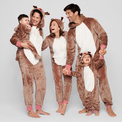North Pole Trading Company Reindeer One Piece Pajama