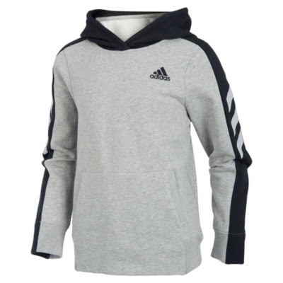 adidas Fleece Hoodie-Big Kid Boys