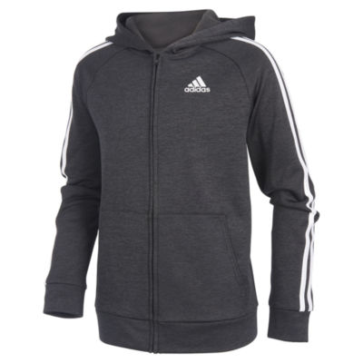 adidas Midweight Jacket-Big Kid Boys
