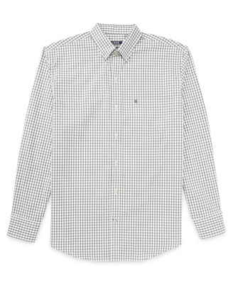 IZOD Long Sleeve Button-Front Shirt