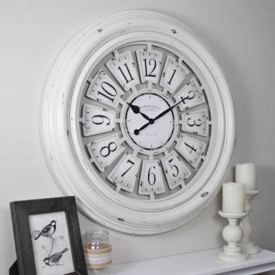 Farmhouse Plaques Wall Clock-31066