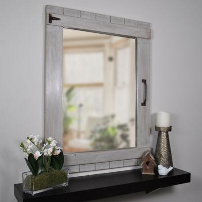 Weathered Barn Wall Mirror