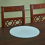 Better Trends Cotton Solid 4-pc. Round Placemats