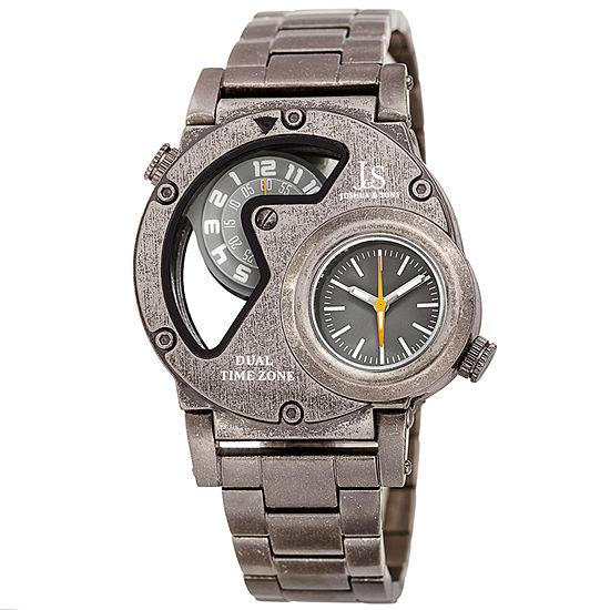 Joshua Sons Mens Gray Bracelet Watch J 143gn