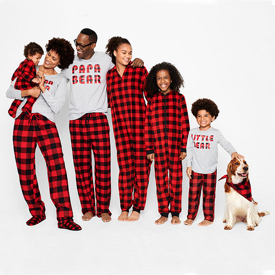 North Pole Trading Company Plaid Family Pajamas