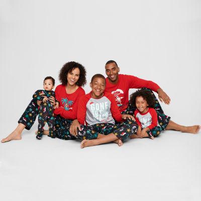 North Pole Trading Co. Knit Pant Pajama Set- Talls