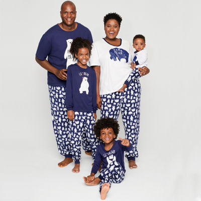 Sleepy Nites Polar Bear Family Pajamas