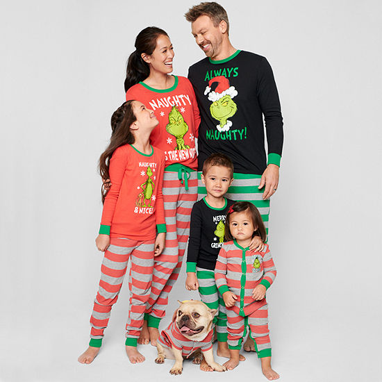 229ec1629a85 The Grinch Family Pajamas