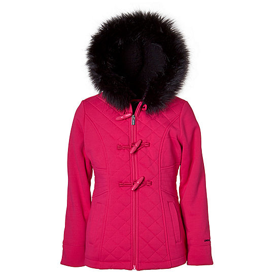 473a112cb Limited Too Fleece Hooded Midweight Jacket-Big Kid Girls - JCPenney