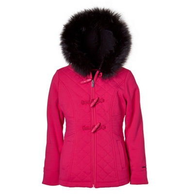 Limited Too Fleece Midweight Jacket-Big Kid Girls