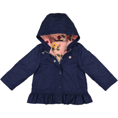 Carter's Peplum Fleece Lined Jacket-Baby Girls