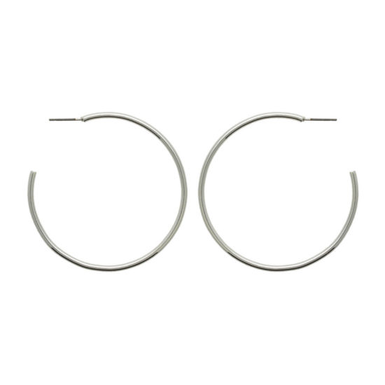 Bold Elements 51.6mm Hoop Earrings