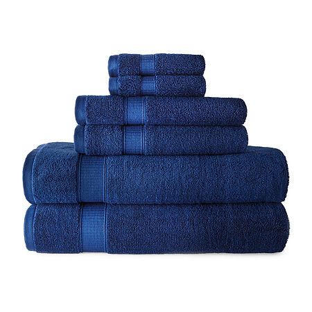 JCPenney Home Performance Bath Towel Collection, One Size , Blue