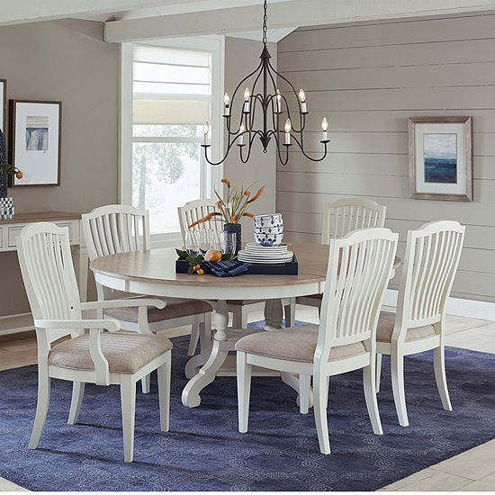 Hillsdale House 7-pc. Oval Dining Set