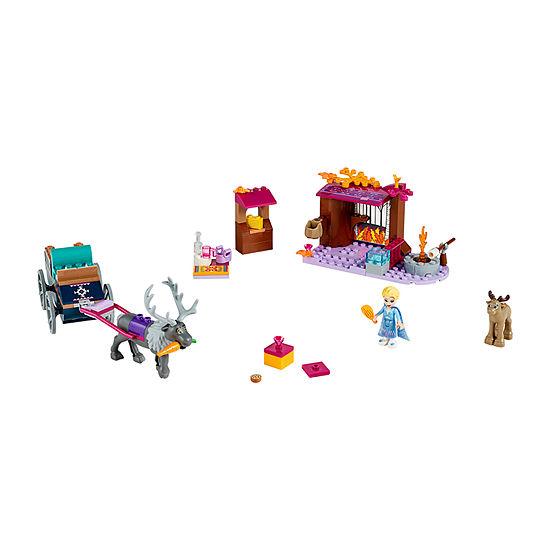 Lego Disney Princess Elsas Wagon Adventure 41166 Building Set