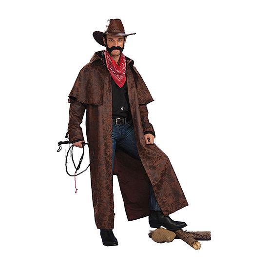 Men's Texas Cowboy Duster Coat Adult Costume