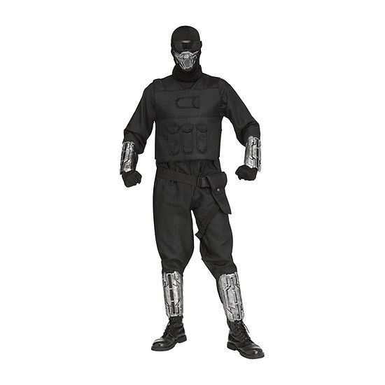 Fortnite Gaming Fighter Costume for Adults One Size Fits Most