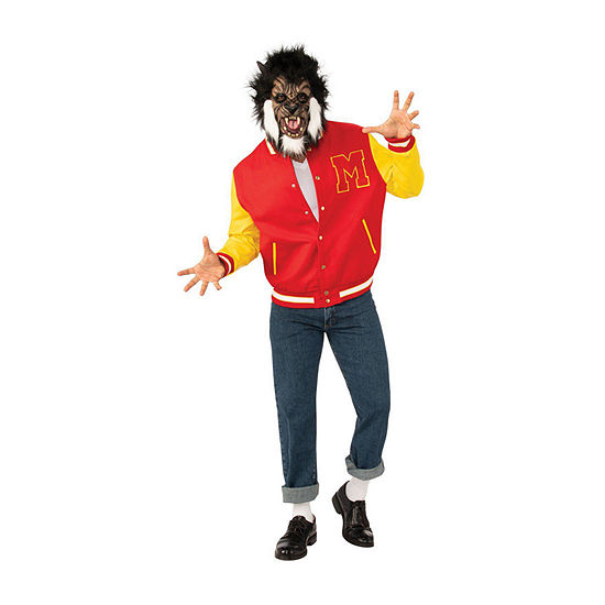 Michael Jackson Adult Thriller Werewolf Jacket and Mask Costume