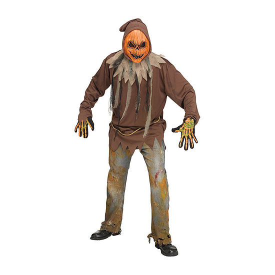 Mens Light Up Pumpkin Costume - One Size Fits Most