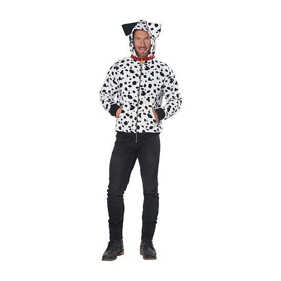Adult Dalmation Hoodie 2-pc. Dress Up Costume Unisex