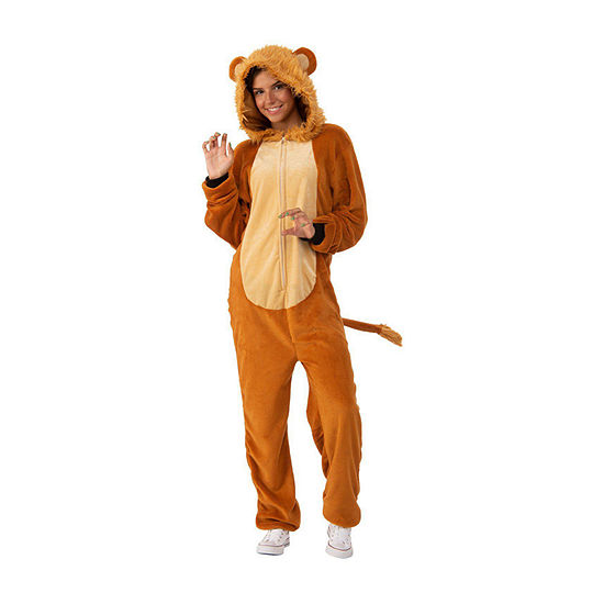 Lion Comfy Wear Adult Dress Up Costume Unisex