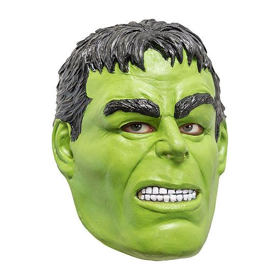 Marvel Avengers Kids Hulk 3/4 Vinyl Mask