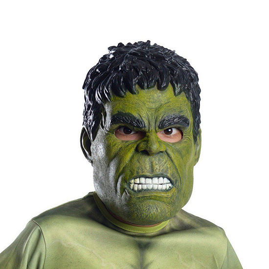 Marvel Avengers Kids Hulk 3/4 Mask Boys Costume