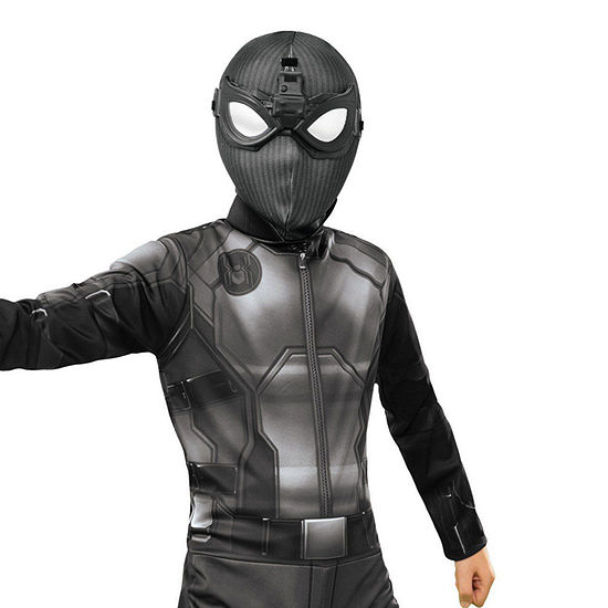 Marvel Spider - Man: Far From Home Deluxe Child Stealth Fabric Mask With Molded Goggles Boys Costume