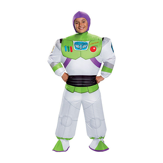 Disney Toy Story Buzz Lightyear Inflatable 3-pc. Dress Up Costume Boys