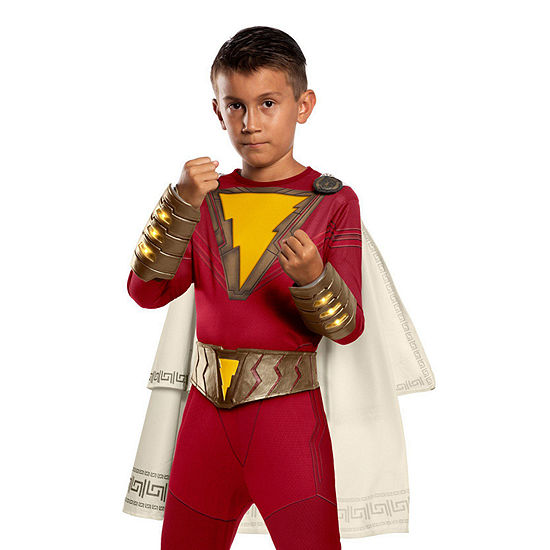 Shazam Kids Belt And Gauntlet Set 3-pc. DC Comics Dress Up Accessory - Boys