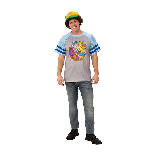 "Stranger Things Dustin'S ""Arcade Cats"" T Shirt Adult"