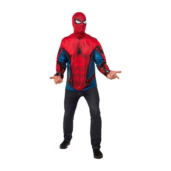 Spider - Man Far From Home (Red/Blue Suit) 2-pc Dress Up Costume Mens