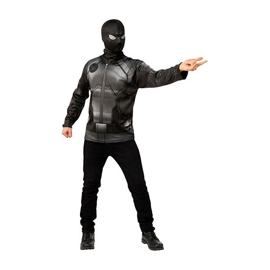 Marvel Far From Home: Spider-Man Costume Large Top With Mask