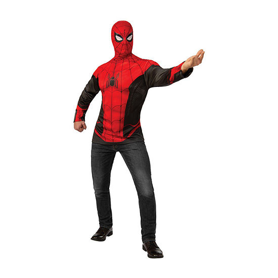 Spider - Man Far From Home Top (Red/Black Suit) 2-pc.Dress Up Costume Mens