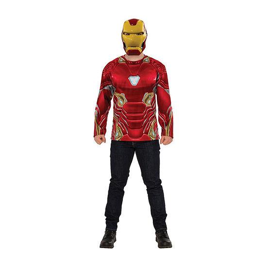 Avengers Iron Man 2-pc Dress Up Costume Mens