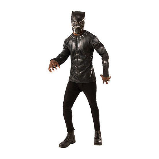 Avengers Black Panther 2-pc Dress Up Costume Mens