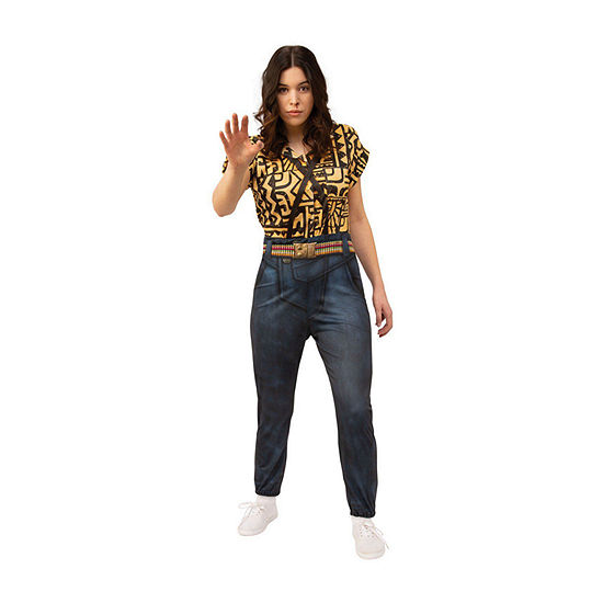 Stranger Things Eleven'S Battle Look Adult Dress Up Costume Womens
